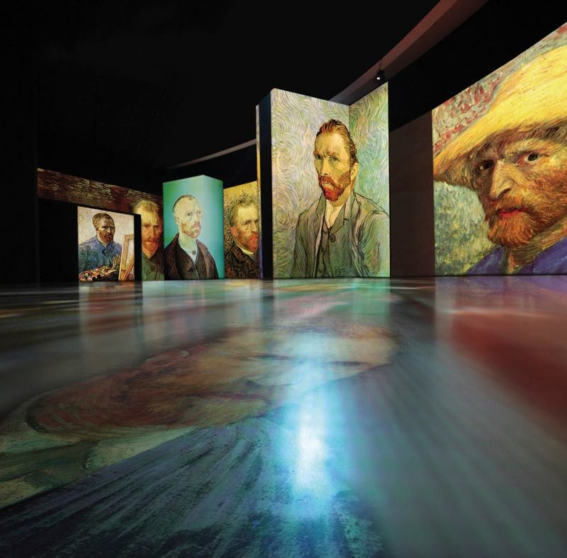 Van Gogh Alive στο Μέγαρο Μουσικής Αθηνών   Έναρξη Ξεναγήσεων στους Χώρους της Έκθεσης