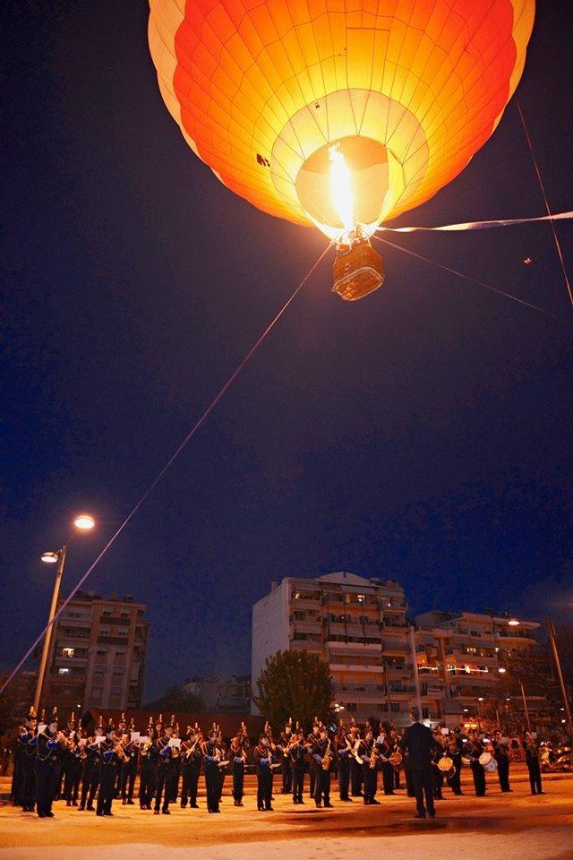 Ονειρούπολη Δράμας: Με αερόστατο έφτασε ο Άγιος Βασίλης και σε προσκαλεί στη μαγεία των Χριστουγέννων