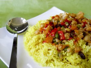 Μπιριγιάνι: Ινδικό αρωματικό ρύζι με λαχανικά και ξηρούς καρπούς