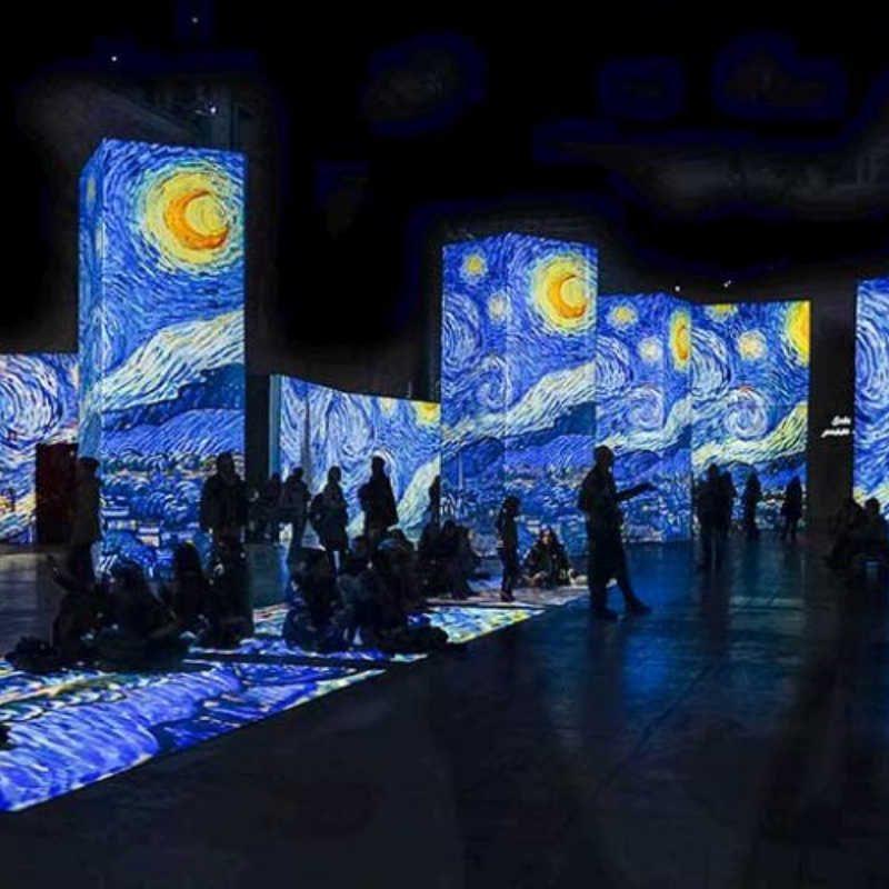 Πρόσκληση στη γιορτή ολοκλήρωσης της Έκθεσης Van Gogh Alive The Experience