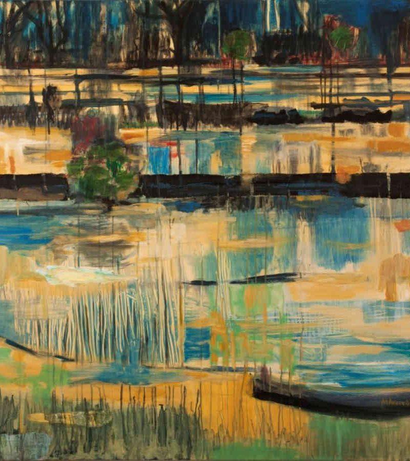 Η Μάγδα Αποστόλου παρουσιάζει την ατομική της έκθεση στη  gallery ArtΠρίσμα