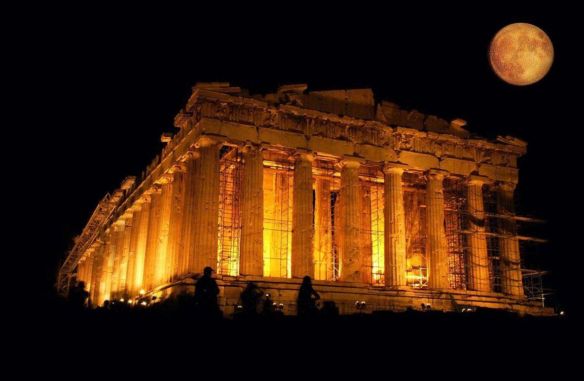, Δείτε τον Παρθενώνα και ακόμη έξι ιστορικά μνημεία να «ζωντανεύουν»