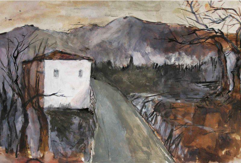 «Τα Πέντε Στοιχεία»   Ατομική έκθεση ζωγραφικής του Γιάννη Πανουτσόπουλου   Από 24 Απριλίου έως 5 Μαΐου στην Dépôt Αrt gallery