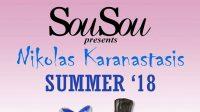 Το «Sou Sou» The Bar παρουσιάζει τον Νικόλα Καραναστάση   Σάββατο 21 Απριλίου
