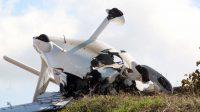 Πτώση διθέσιου αεροσκάφους στη Φωκίδα – Δύο νεκροί (video)