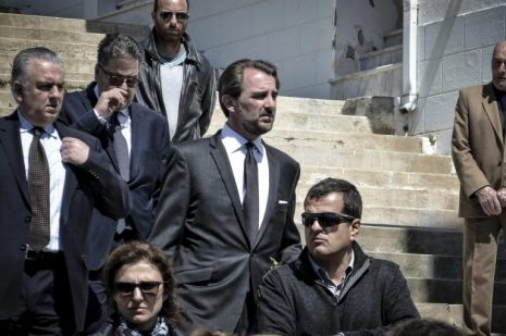 Άνδρος: Σπαραγμός στην κηδεία του Αλέξανδρου Σταματιάδη