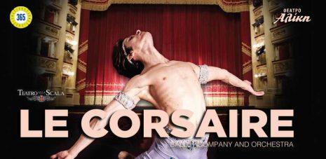 Teatro alla Scala στο Θέατρο Αλίκη! «LE CORSAIRE»