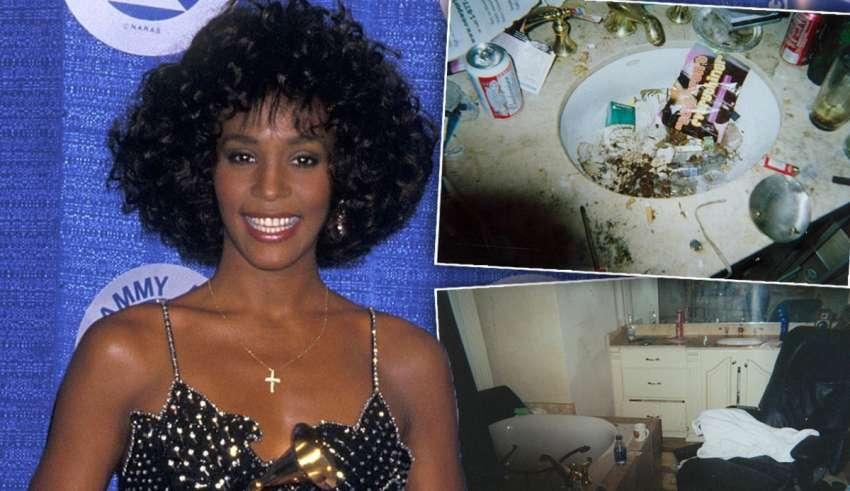 Σάλος για το μουσικό εξώφυλλο με τα ναρκωτικά της Whitney Houston λίγο πριν πεθάνει