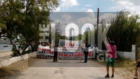 ΑΠΟΚΛΕΙΣΤΙΚΟ: Αγανακτισμένοι οι κάτοικοι για την δημιουργία οστρακοκαλλιέργειας στην Ψιλή Άμμο Σαλαμίνας