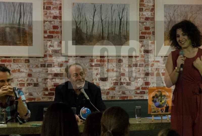 Το The Look.Gr στην παρουσίαση του παιδικού βιβλίου της Ανθής Βαφειάδη «Ένα στραγάλι πήρε τον κατήφορο» στο κατάμεστο Polis Art Café