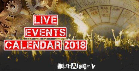 Ημερολόγιο συναυλιών για το Καλοκαίρι του 2018 από το Radio Alchemy