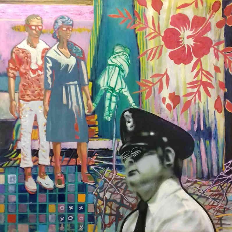 , 2η δράση της εικαστικής πλατφόρμας #Rest@rt στην AQUA GALLERY ART HOTEL SANTORINI | Ομαδική έκθεση Bonnie & Clyde