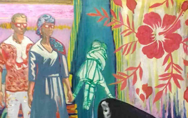 2η δράση της εικαστικής πλατφόρμας #Rest@rt στην AQUA GALLERY ART HOTEL SANTORINI | Ομαδική έκθεση Bonnie & Clyde