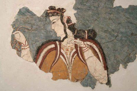"""Κύκλος Πειραματικής Αρχαιολογίας """"Οι αμέτρητες όψεις του Ωραίου"""": Ενδυμασίες του προϊστορικού Αιγαίου"""
