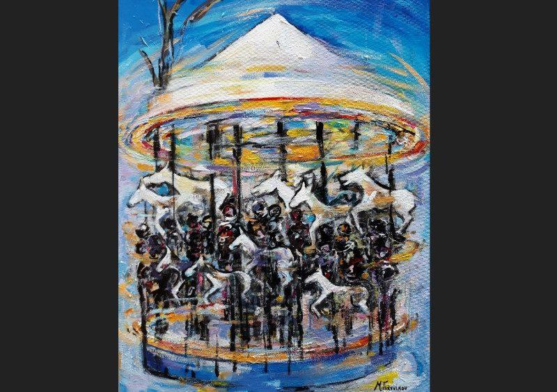 «Τόπος συνάντησης» | Βατανίδης Στάθης, Γιαννίκου Μαρία, Λύτρας Σπύρος στη γκαλερί Σαπφώ, Μυτιλήνη |