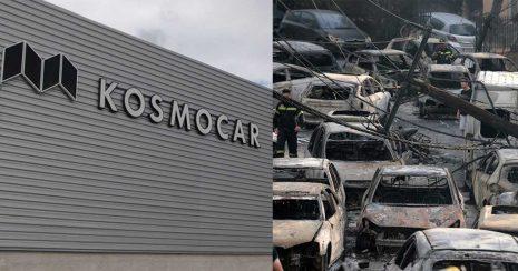 Η Kosmocar διαθέτει δωρεάν αυτοκίνητα σε όσους καταστράφηκε το όχημά τους στις πυρκαγιές