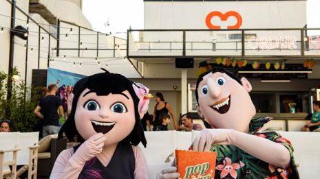 Ο Ντρακ και η Μέϊβις σας περιμένουν στο Cine Άνεσις την Τετάρτη 18 Ιουλίου στις 20:00
