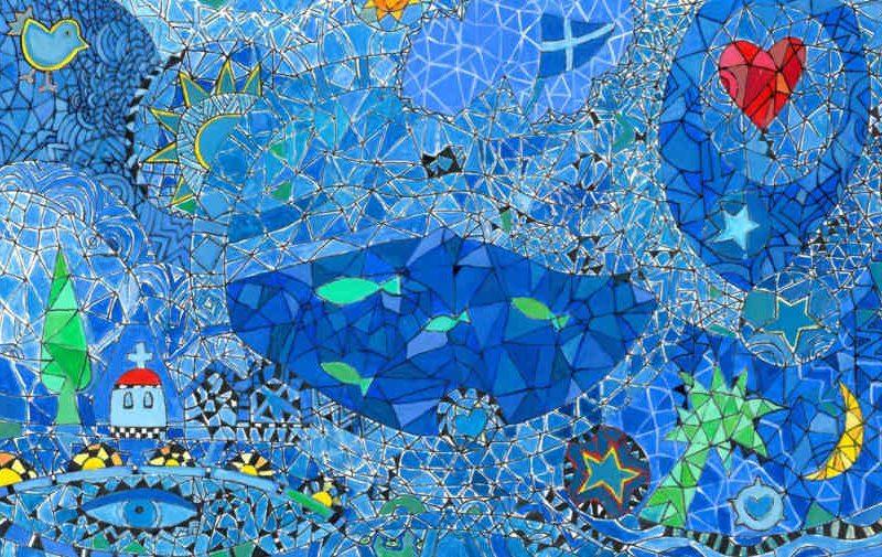 "«Paper Scissors on the Rocks"" Έκθεση Ζωγραφικής της Στέλλας Μελετοπούλου στο TWOS"