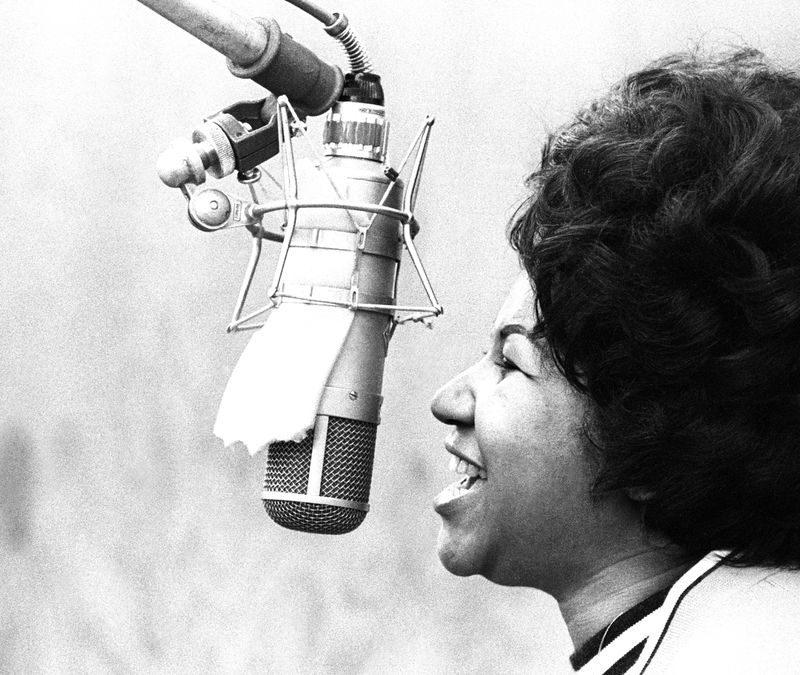 H Aretha Franklin στα charts μαζί με σπάνιες φωτογραφίες!