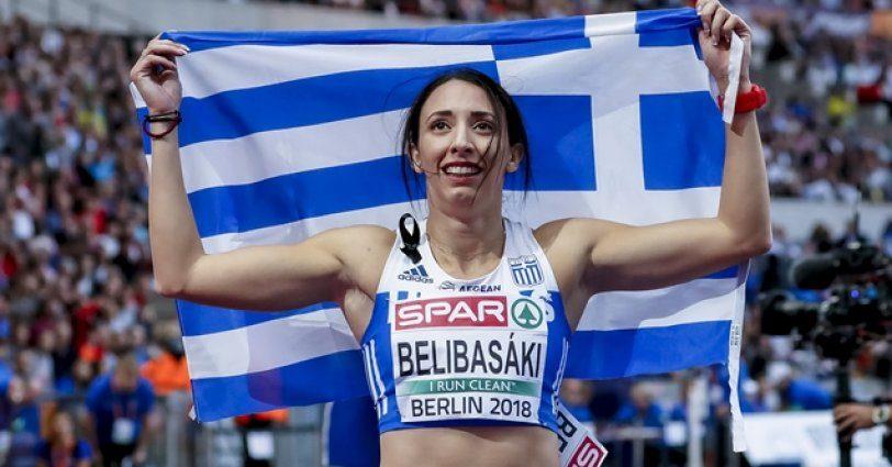 Ασημένιο η Μαρία Μπελιμπασάκη και Πανελλήνιο ρεκόρ!