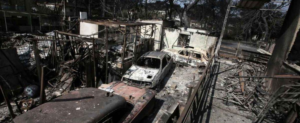 Συνελήφθη 35χρονος για εμπρησμούς στον Μαραθώνα- «Ήθελα να βλέπω πυροσβέστες να τρέχουν»
