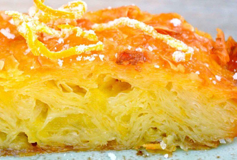 Πορτοκαλόπιτα… με άρωμα λεβάντας