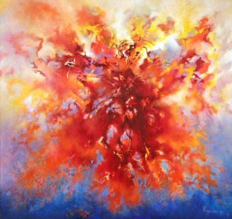 «Άλφα εις την Ν, αν, Όταν η ψυχή συναντάει το Σύμπαν» στην Dépôt Αrt gallery