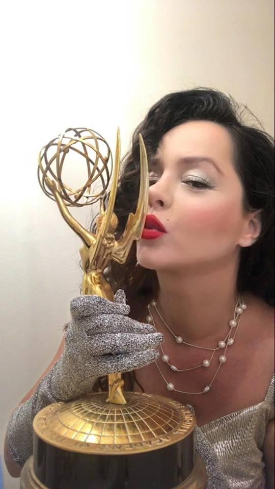 , Δέσποινα Μοίρου: Έλαμψε στη μεγάλη βραδιά των βραβείων Emmy (εικόνες)