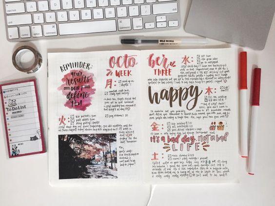 Bullet Journal: Μαθαίνοντας «την τέχνη να ζεις με έναν σκοπό».