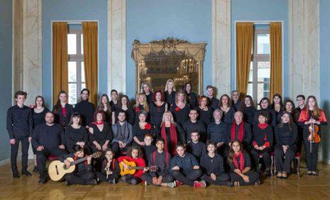 Το Φωνητικό σύνολο Libro Coro στη συναυλία της Λένας Αλκαίου στο Βεάκειο