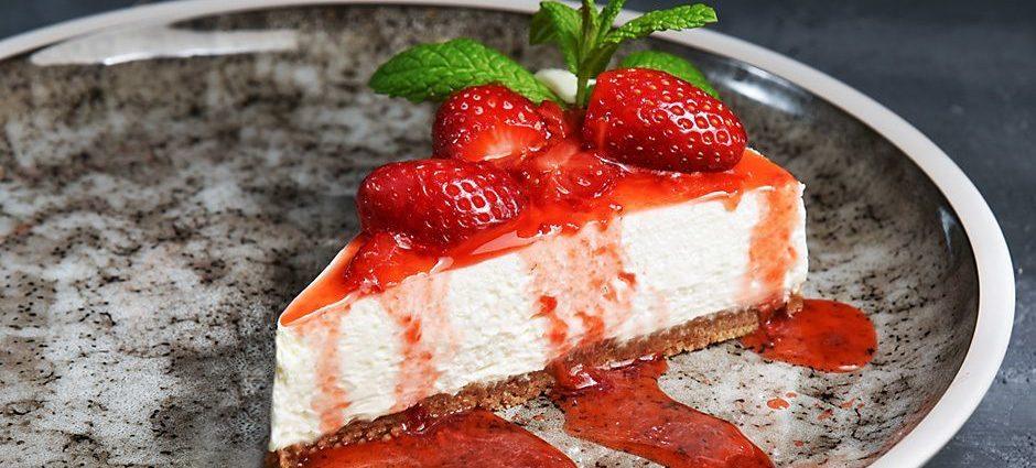 , Ένα Cheesecake Φράουλα όλο γλύκα…