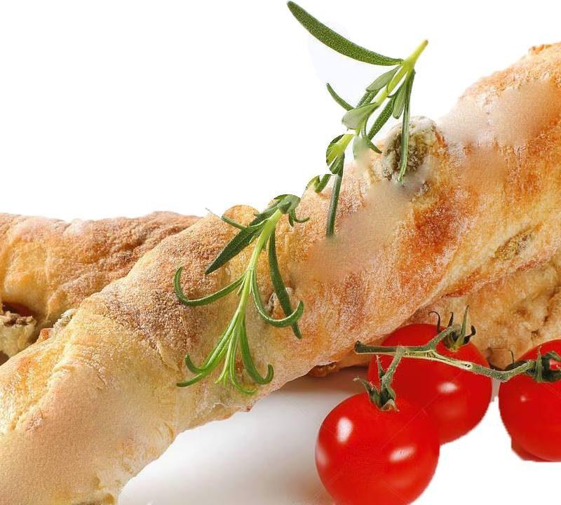 Χωριάτικο ψωμί με δεντρολίβανο και τοματίνια