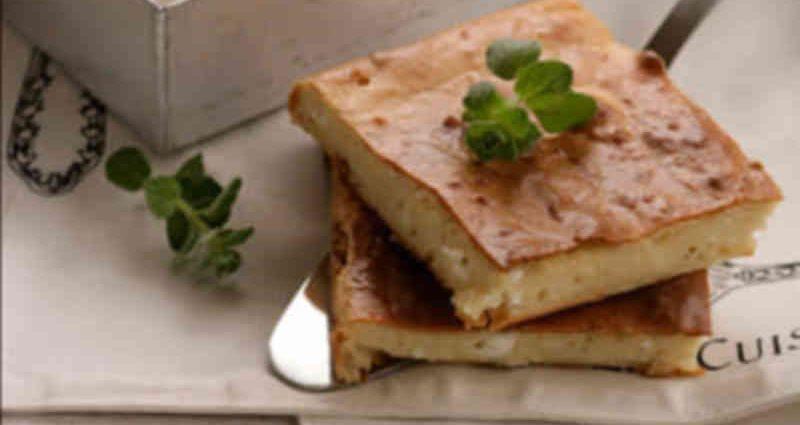 , Εύκολη Τυρόπιτα με γιαούρτι και φέτα («Τεμπελόπιτα»)