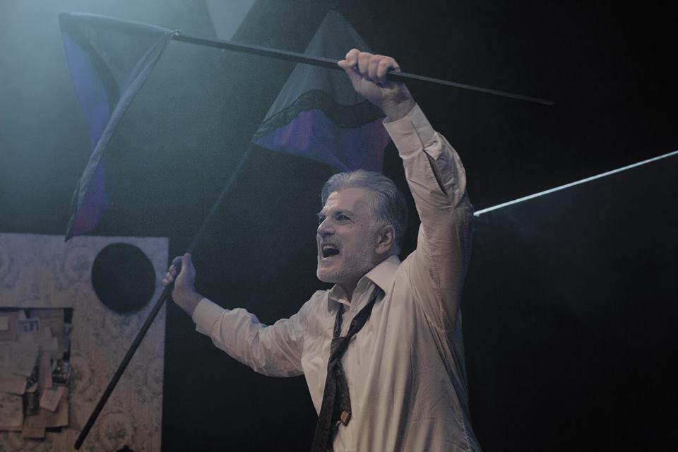 , «Το Όνειρο ενός Γελοίου» του Φ. Ντοστογιέφσκι   3ος Χρόνος Επιτυχίας στο Θέατρο «Μορφές Έκφρασης»