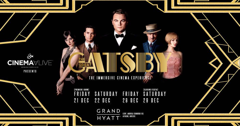 , The Great Gatsby – Cinema Alive