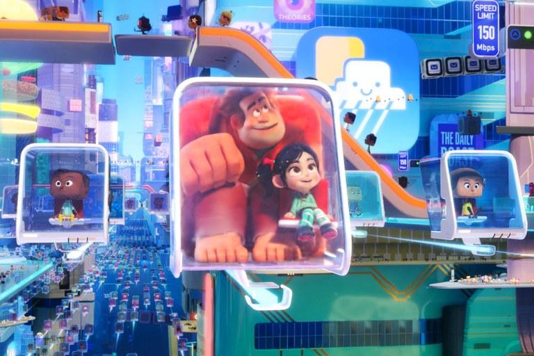 Ράλφ Εναντίον Ίντερνετ (Ralph breaks the Internet)   22 Νοεμβρίου στους κινηματογράφους από τη Feelgood  μεταγλωττισμένο, με υπότιτλους και σε 3D