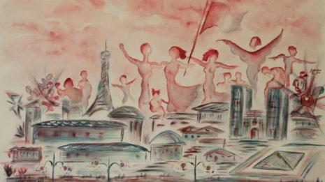 Η ομαδική έκθεση ζωγραφικής «Bleu blanc rouge d' Art» εγκαινιάζει έναν Κύκλο Εκθέσεων Τέχνης αφιερωμένο στη Γαλλία