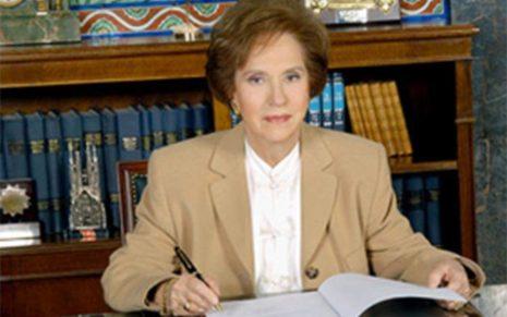 Η Άννα Μπενάκη - Ψαρούδα εξελέγη αντιπρόεδρος της Ακαδημίας Αθηνών