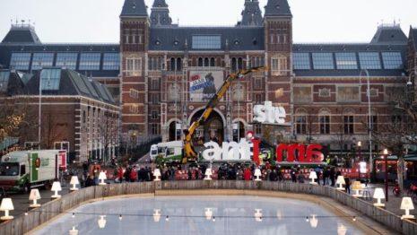 Έβγαλαν το «I Amsterdam» έξω από το Εθνικό Μουσείο της Ολλανδίας!