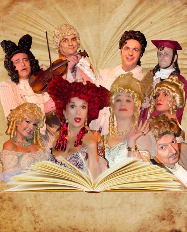 «Οι Ψευτοσπουδαίες» του Μολιέρου στο Διάχρονο Θέατρο Μ. Βιδάλη