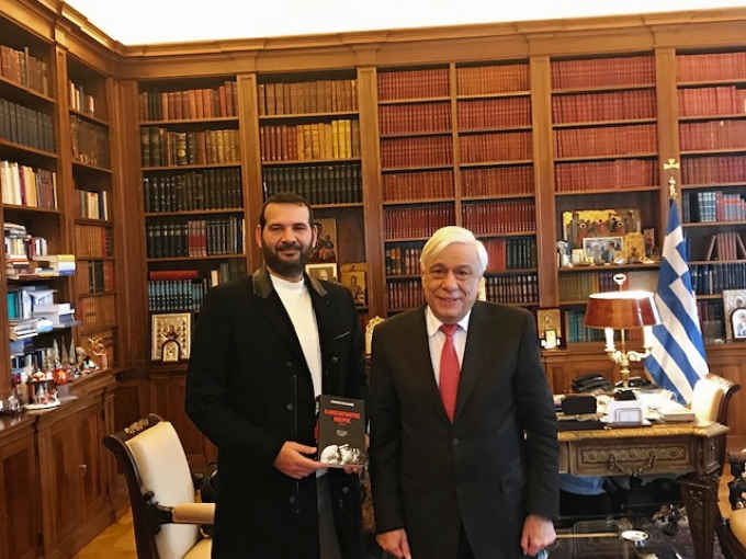 Ο Γιώργος Πράτανος καλεσμένος του Προέδρου της Δημοκρατίας, Προκόπη Παυλόπουλου