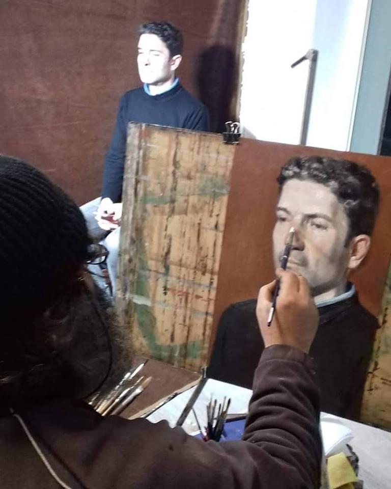 , Κωνσταντίνος Κερεστετζής «Η ΑΣΚΗΤΙΚΗ ΤΟΥ ΒΛΕΜΜΑΤΟΣ» μέχρι τις 16 Φεβρουαρίου , στην αίθουσα τέχνης «Chalkos Gallery»