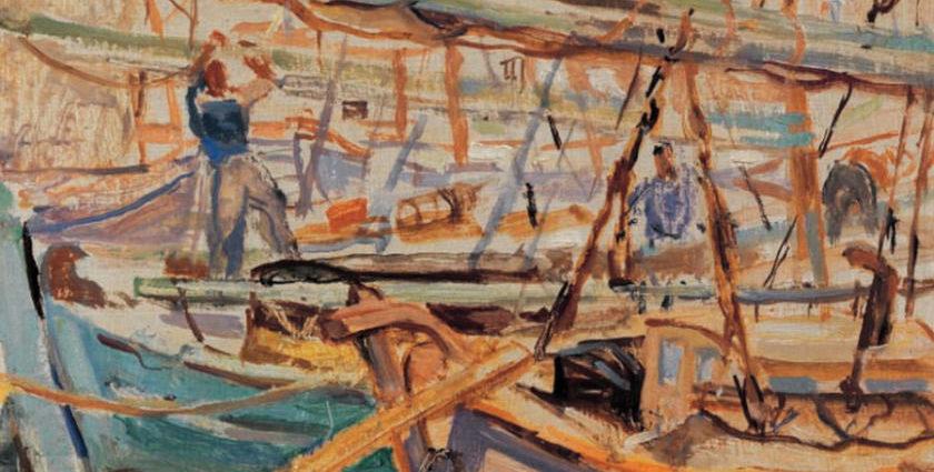 """Περικλής Βυζάντιος """"O καλλιτέχνης πρέπει να τραβάει ίσια το δρόμο του, χωρίς να κάνει καμιά υποχώρηση"""""""
