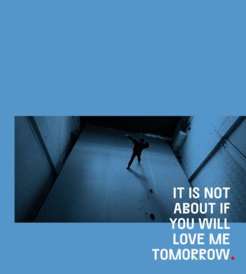 , Η νέα παράσταση χορού της Ανδρονίκης Μαραθάκη | It's not about if you will love me tomorrow, Μέρος 1