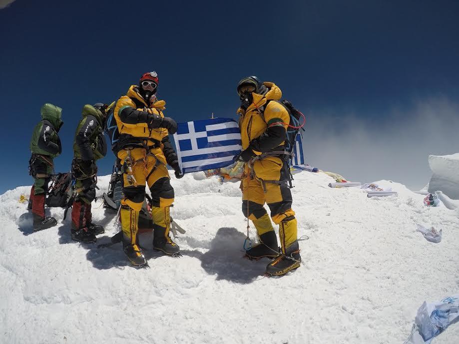 , «Οι Έλληνες στην κορυφή του Έβερεστ» στη Δροσιά