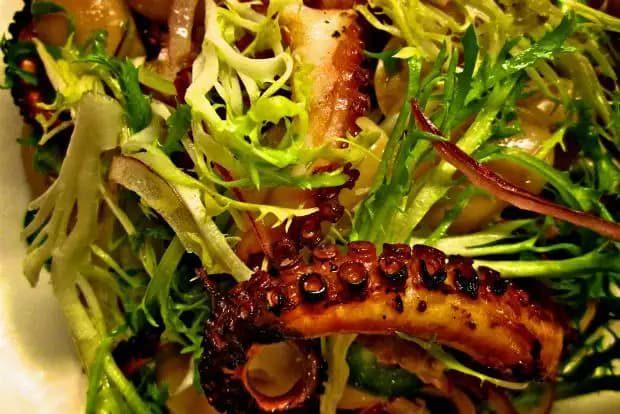 Σαλάτα με χταπόδι