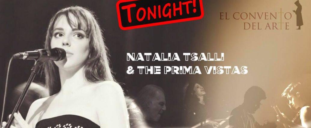 , Natalia Tsalli and The Prima Vistas στο El Convento Del Arte | Σάββατο 13 Απριλίου 2019