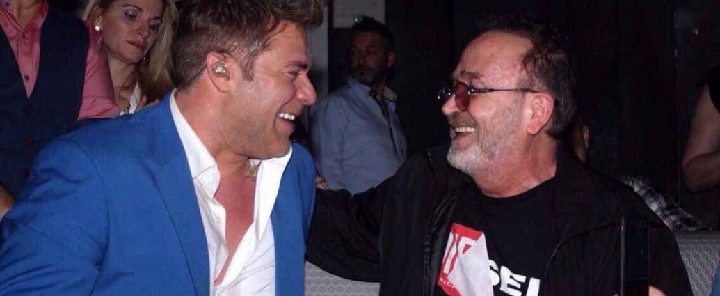 , Ο Σταμάτης Γονίδης διασκέδασε με Χρήστο Χολίδη στο Frangelico