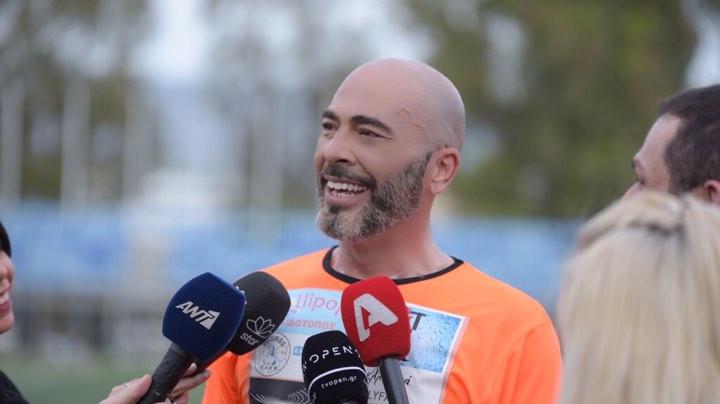 Βαλάντης: Έγινε ποδοσφαιριστής σε φιλανθρωπικό αγώνα για τα «Παιδικά Χωριά SOS» και τη Στέγη Θηλέων «Άγιος Αλέξανδρος»