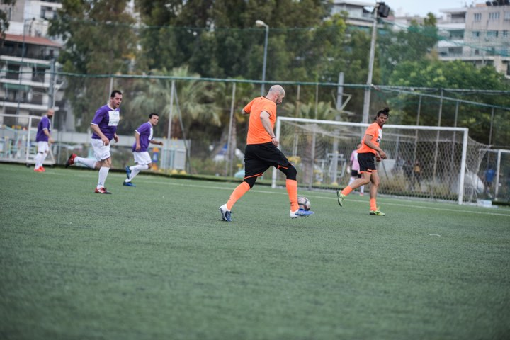 , Βαλάντης: Έγινε ποδοσφαιριστής σε φιλανθρωπικό αγώνα για τα «Παιδικά Χωριά SOS» και τη Στέγη Θηλέων «Άγιος Αλέξανδρος»